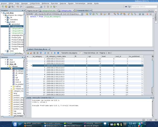 Netbeans Database Administration Tool